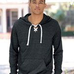 Sport Lace Jersey Hooded Pullover T-Shirt